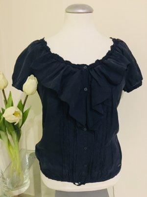 Abercrombie& Fitch Bluse Gr M blau