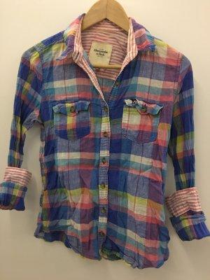 Abercrombie&Fitch Bluse Hemd Hemdbluse Karo