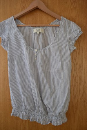Abercrombie&Fitch Bluse in grau