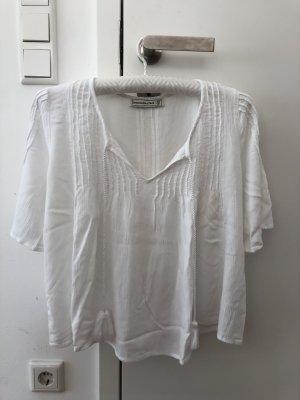 Abercrombie&Fitch Bluse in weiß in der Größe M