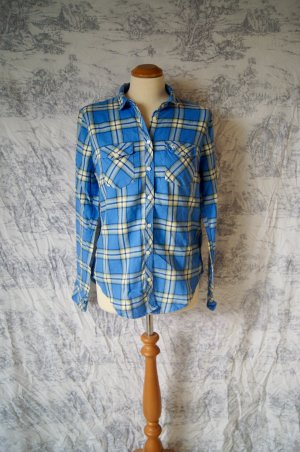Abercrombie & Fitch Bluse S/M 36/38 Hemd Holzfäller kariert Karos A&F Flanell