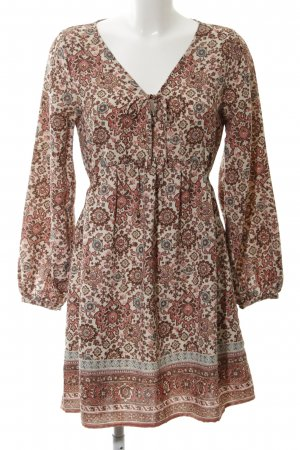 Abercrombie & Fitch Blouse Dress allover print vintage look