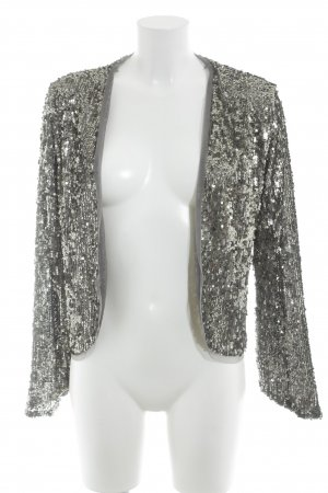 Abercrombie & Fitch Bolero silver-colored-grey party style