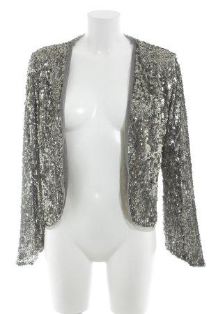 Abercrombie & Fitch Torera color plata-gris estilo fiesta