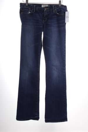 Abercrombie & Fitch Boot Cut Jeans blau College-Look