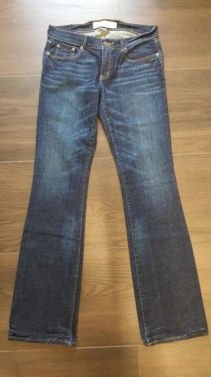 "Abercrombie & Fitch Boot Jeans ""Emma"" W 27 L 33 / 4R dunkelblau"