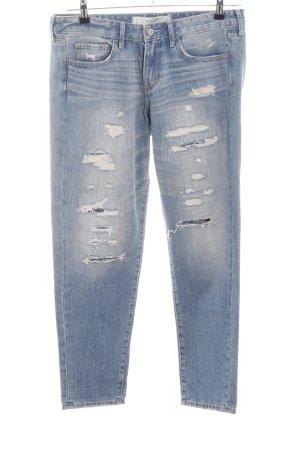 Abercrombie & Fitch Boyfriend Jeans blue casual look