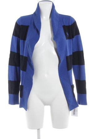 Abercrombie & Fitch Cardigan blau-dunkelblau Streifenmuster Casual-Look
