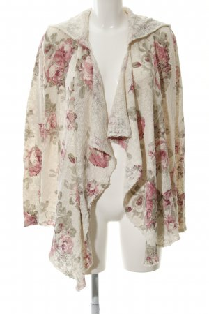 Abercrombie & Fitch Cardigan Blumenmuster Boho-Look