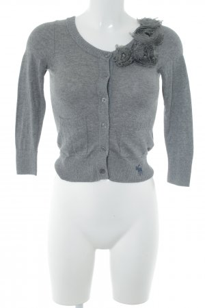 Abercrombie & Fitch Cardigan grau Casual-Look