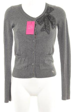 Abercrombie & Fitch Cardigan grau-dunkelgrau Casual-Look