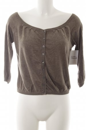 Abercrombie & Fitch Cardigan grey brown simple style