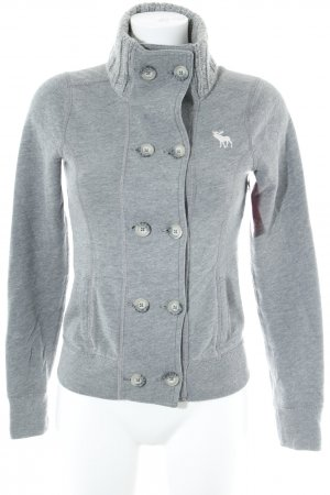 Abercrombie & Fitch Cardigan lichtgrijs casual uitstraling