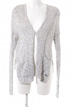 Abercrombie & Fitch Cardigan hellgrau Casual-Look