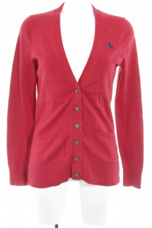Abercrombie & Fitch Cardigan rot Casual-Look