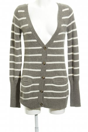 Abercrombie & Fitch Cardigan Streifenmuster Casual-Look