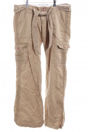 Abercrombie & Fitch Cargobroek nude casual uitstraling