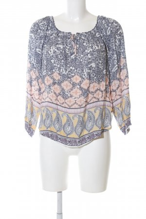 Abercrombie & Fitch Carmen blouse volledige print casual uitstraling