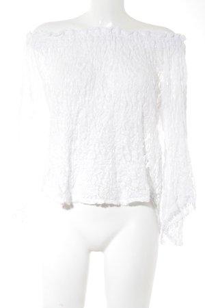 Abercrombie & Fitch Carmen Blouse white elegant