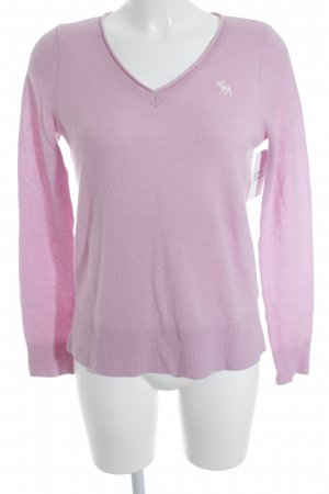 Abercrombie & Fitch Cashmerepullover rosa Casual-Look
