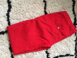 Abercrombie & Fitch / Chino-Hose in knalligem Rot