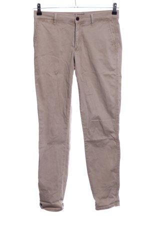 Abercrombie & Fitch Pantalone chino bianco sporco stile casual