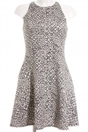 Abercrombie & Fitch Cocktailkleid creme-dunkelblau florales Muster