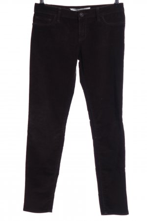 Abercrombie & Fitch Pantalón de pana negro look casual