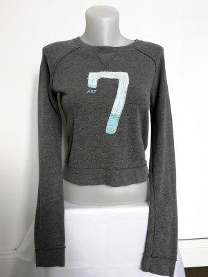 Abercrombie & Fitch Crewneck Sweater grey