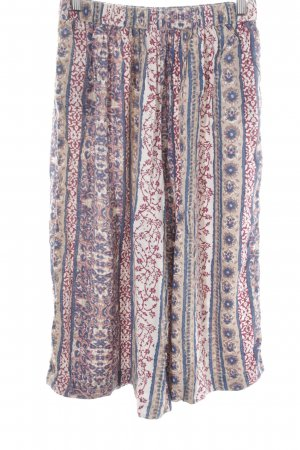 Abercrombie & Fitch Culottes abstract pattern extravagant style