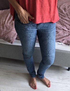 Abercrombie & Fitch Jeans skinny blu fiordaliso