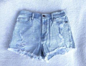 Abercrombie & Fitch Denim Shorts azure cotton
