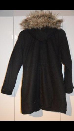 Abercrombie & Fitch Duffle-coat noir