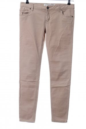 Abercrombie & Fitch Pantalón de cinco bolsillos crema look casual