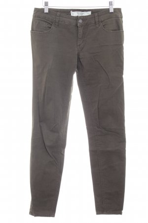 Abercrombie & Fitch Five-Pocket-Hose dunkelgrün Casual-Look
