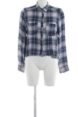 Abercrombie & Fitch Flanellen hemd geruite print zakelijke stijl