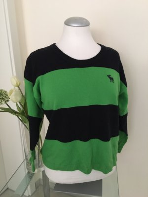 Abercrombie & Fitch Crewneck Sweater green-black