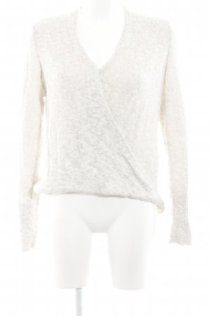 Abercrombie & Fitch Grobstrickpullover hellbeige Casual-Look