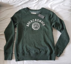 Abercrombie & Fitch grüner Pullover