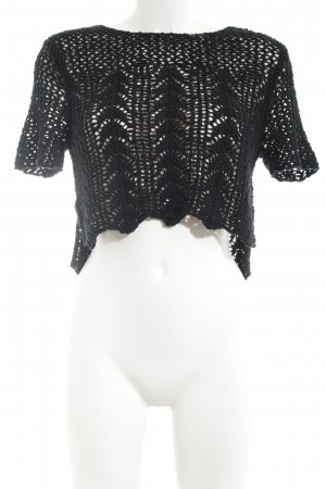 Abercrombie & Fitch Crochet Shirt black casual look