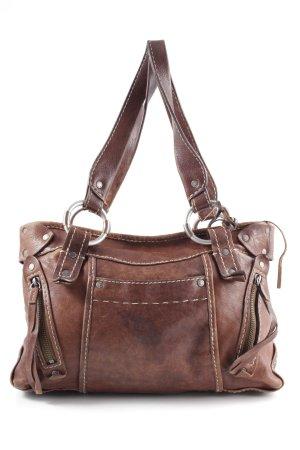 Abercrombie & Fitch Handtasche braun Business-Look