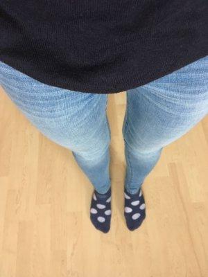 Abercrombie & Fitch Skinny jeans blauw-azuur