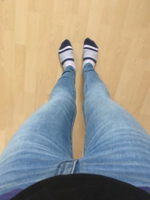 Abercrombie & Fitch Skinny Jeans blue