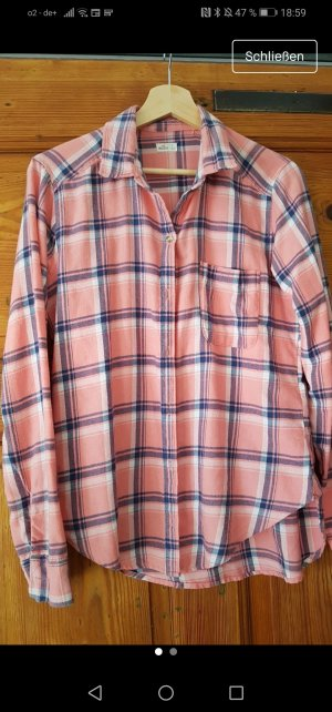 Abercrombie & Fitch Flannel Shirt pink