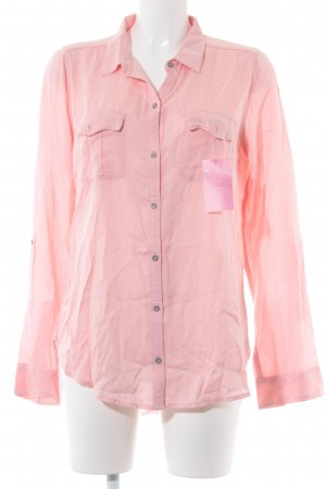 Abercrombie & Fitch Hemd-Bluse rosa Casual-Look
