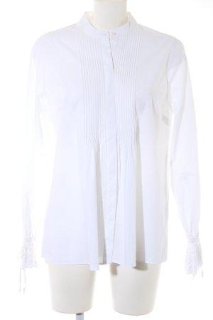 Abercrombie & Fitch Hemd-Bluse weiß Hippie-Look