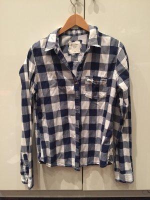 Abercrombie&Fitch Hemd in blau/weiß kariert