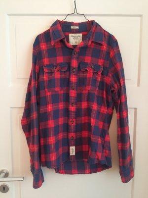 Abercrombie & Fitch Hemd Shirt Flanell Herrenhemd Oversized Holzfällerhemd A&F