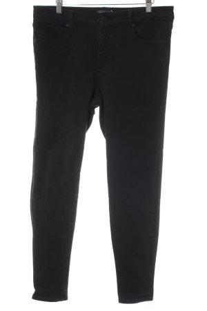 "Abercrombie & Fitch High Waist Jeans ""Simone High Rise "" schwarz"