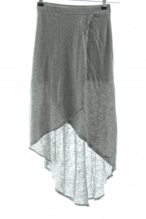 Abercrombie & Fitch High Waist Skirt light grey flecked casual look
